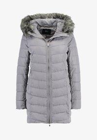 ONLY - ONLELLAN QUILTED HOOD - Krátký kabát - silver filigree - 3