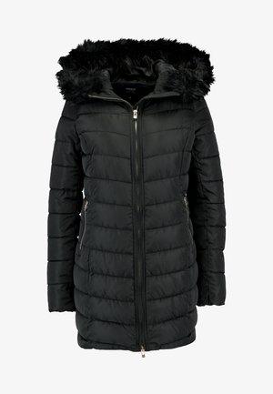 ONLELLAN QUILTED HOOD - Short coat - black