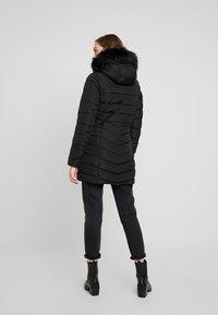 ONLY - ONLELLAN QUILTED HOOD - Krátký kabát - black - 2
