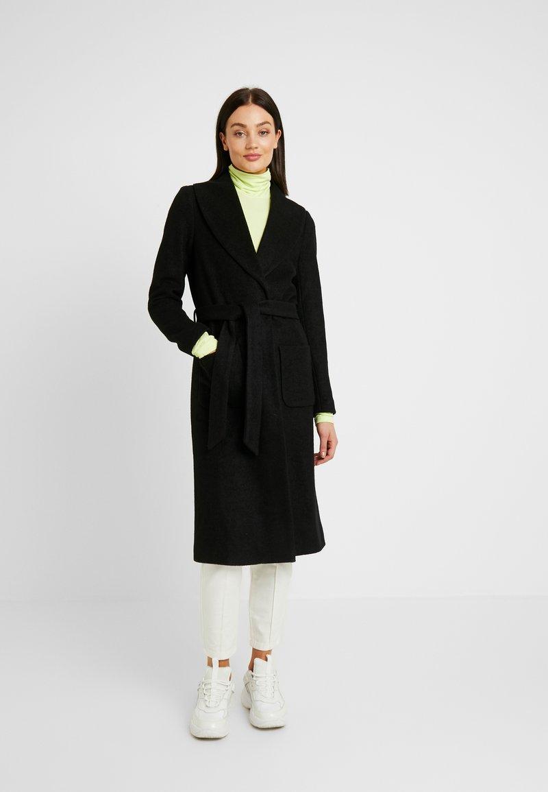 ONLY - ONLJOLIE LONG COAT - Classic coat - black
