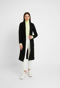 ONLY - ONLJOLIE LONG COAT - Classic coat - black - 1