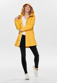 ONLY - Waterproof jacket - yolk yellow - 1