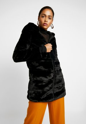 ONLCHRIS HOODED COAT - Cappotto invernale - black