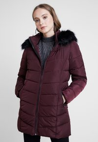 ONLY - ONLMINEA QUILTED HOOD - Talvitakki - port royale - 0