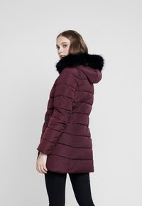 ONLY - ONLMINEA QUILTED HOOD - Talvitakki - port royale - 2