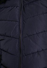 ONLY - ONLMINEA QUILTED HOOD - Zimní kabát - night sky - 6