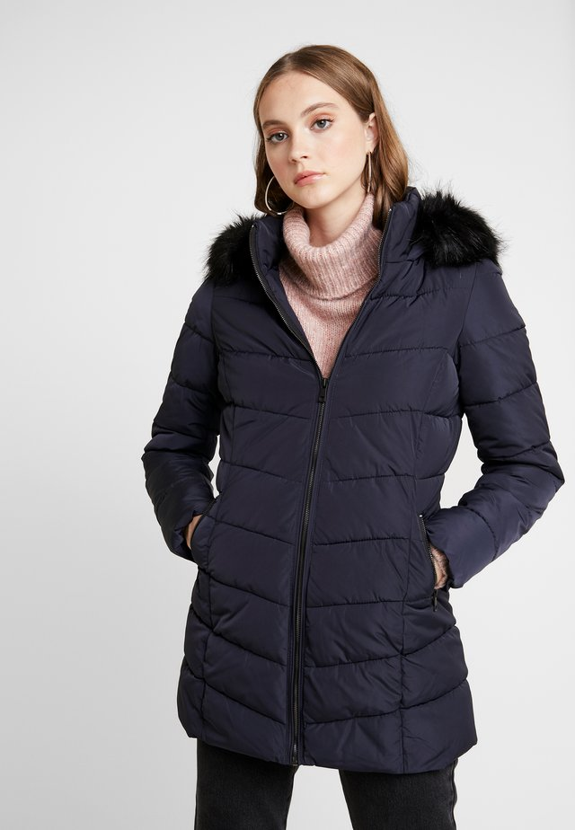 ONLMINEA QUILTED HOOD - Abrigo de invierno - night sky