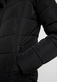 ONLY - ONLMINEA QUILTED HOOD - Abrigo de invierno - black - 6