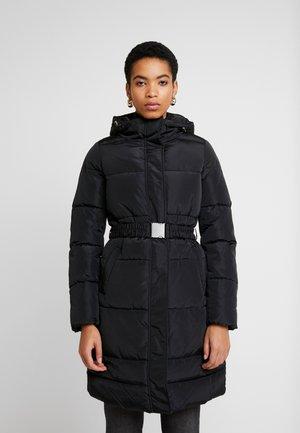 ONLTOMINE LONG COAT - Winterjas - black