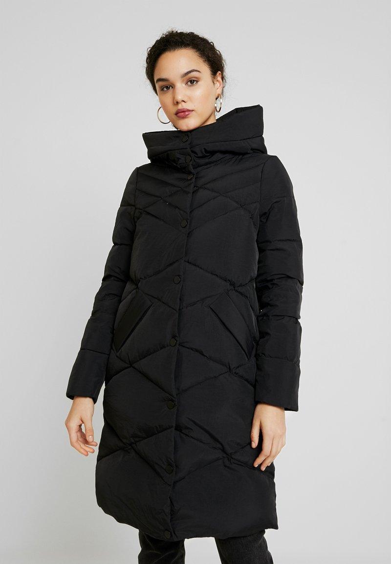 ONLY - ONLCANDY COAT - Kabát zprachového peří - black
