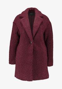 ONLY - ONLALMA TEDDY COAT - Krátký kabát - windsor wine - 3