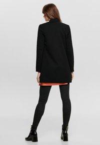 ONLY - ONLPOPTRASH SOHO COATIGAN PNT - Cappotto corto - black - 2