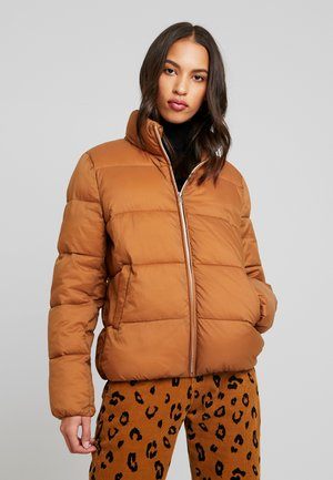 ONLNINA QUILTED - Winterjacke - toasted coconut