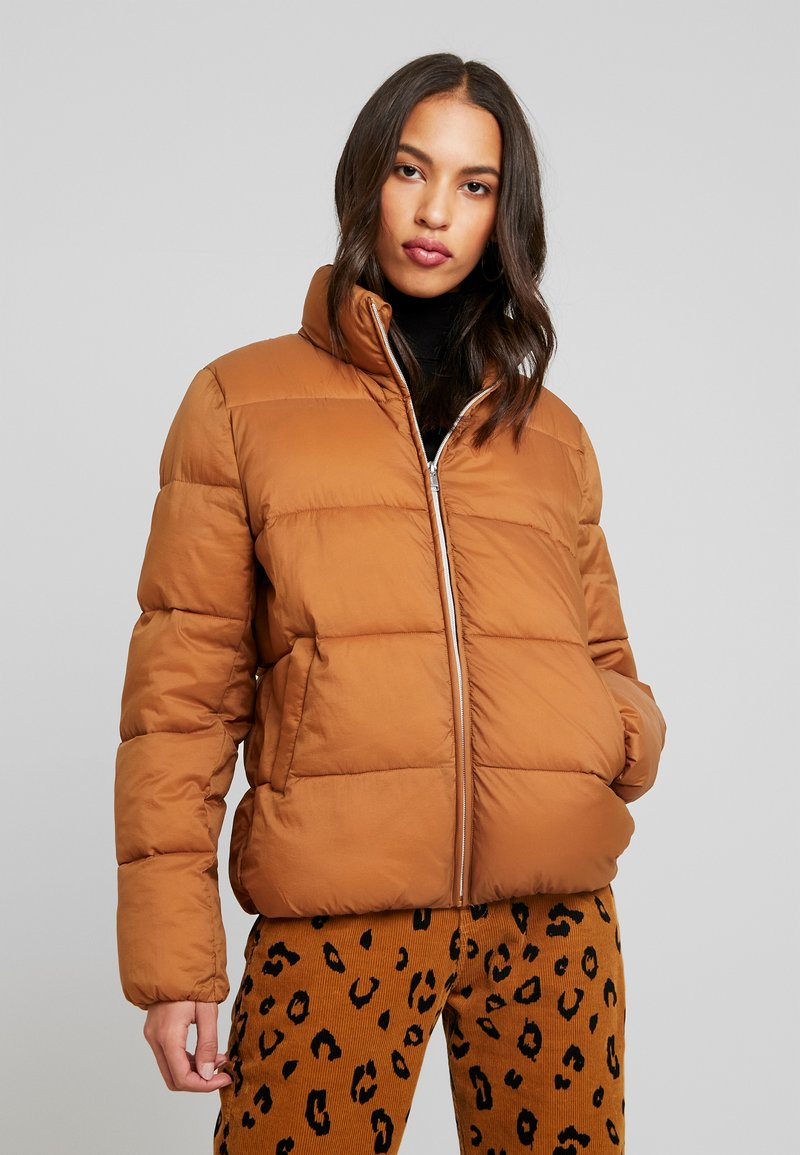 ONLY - ONLNINA QUILTED - Winter jacket - toasted coconut