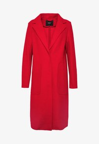 ONLY - ONLAMINA COAT - Classic coat - fiery red - 3
