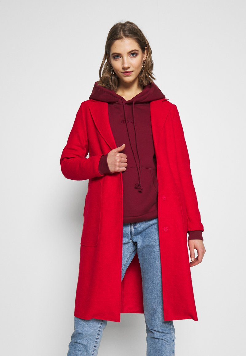 ONLY - ONLAMINA COAT - Classic coat - fiery red