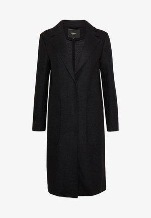ONLAMINA COAT - Mantel - black