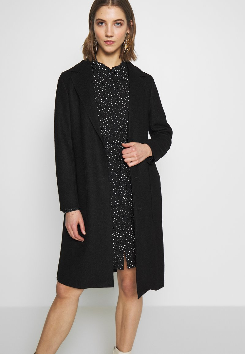 ONLY - ONLAMINA COAT - Kåpe / frakk - black