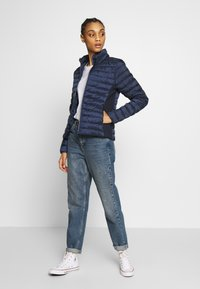 ONLY - ONLHAILEY LIFE QUILTED JACKET - Light jacket - night sky - 1