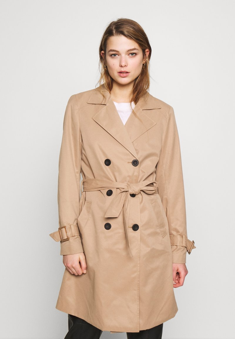 ONLY - ONLVEGA - Trenchcoat - brown