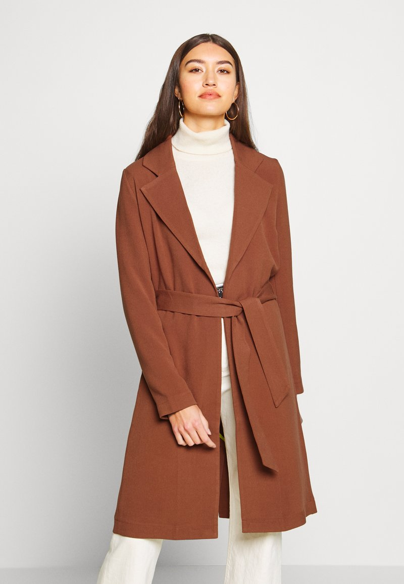 ONLY - ONLPENELOPE - Classic coat - brown patina