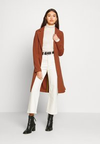 ONLY - ONLPENELOPE - Classic coat - brown patina - 1