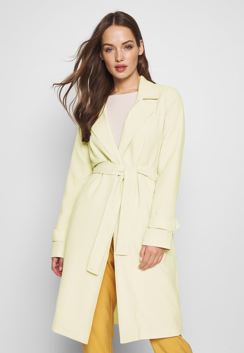 ONLY - ONLUNNA DRAPY COAT - Trench - peyote