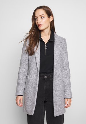 ONLBAKER EBBA COATIGAN - Cappotto corto - medium grey melange
