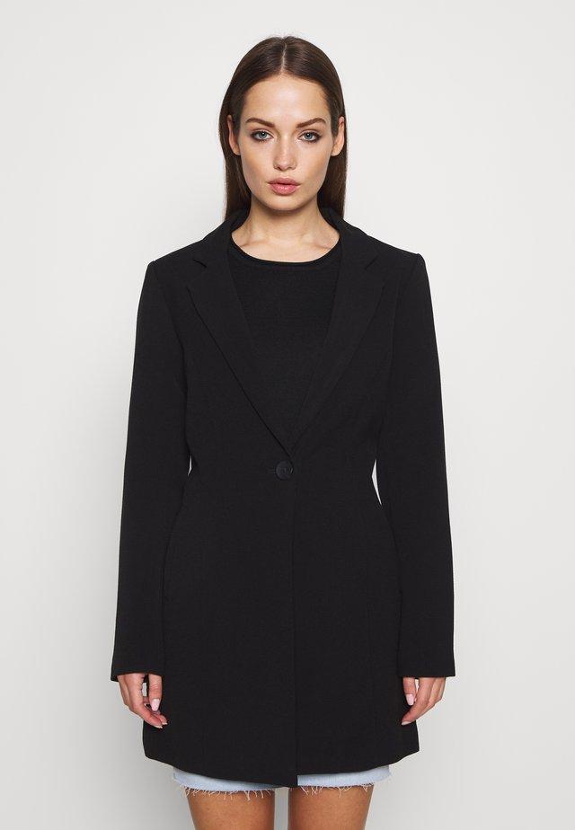 ONLSAVANNAH SPRING COAT - Halflange jas - black