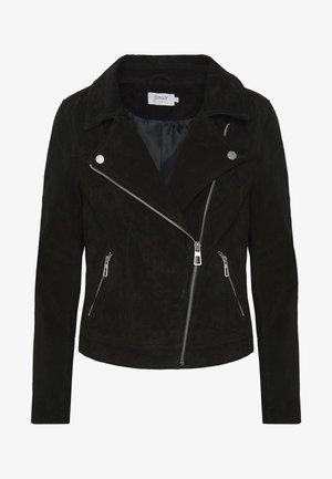 ONLRILEY  - Leren jas - black