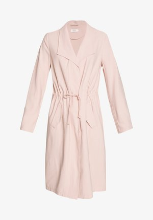 ONLSILLE DRAPY LONG COAT - Classic coat - misty rose