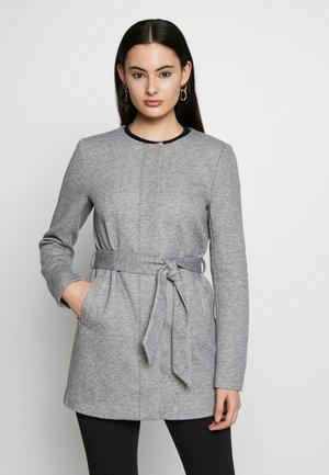 ONLSEOUL LIGHT COAT  - Krótki płaszcz - light grey melange