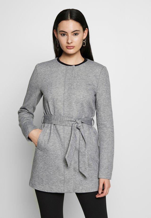 ONLSEOUL LIGHT COAT  - Abrigo corto - light grey melange