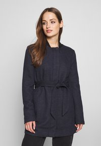 ONLY - ONLSEOUL LIGHT COAT  - Kort kåpe / frakk - night sky - 0