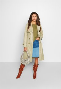 ONLY - ONLADDIE - Trench - feather gray - 1