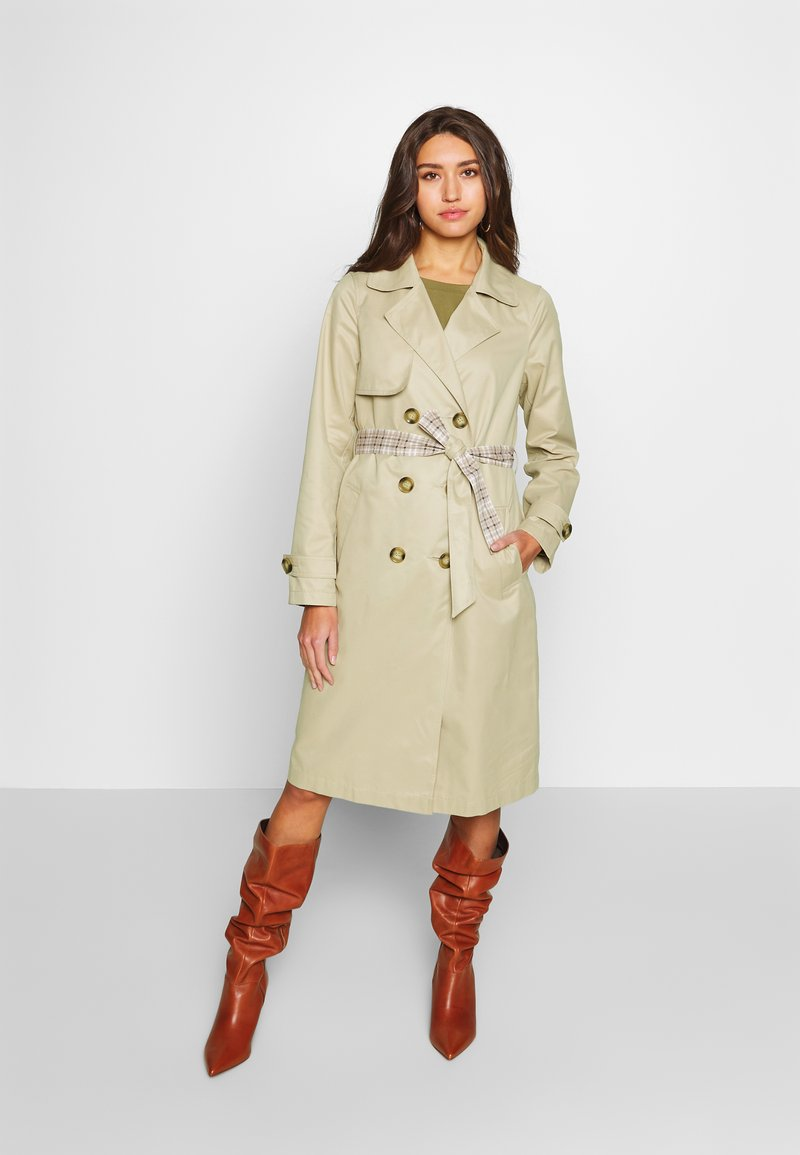 ONLY - ONLADDIE - Trench - feather gray