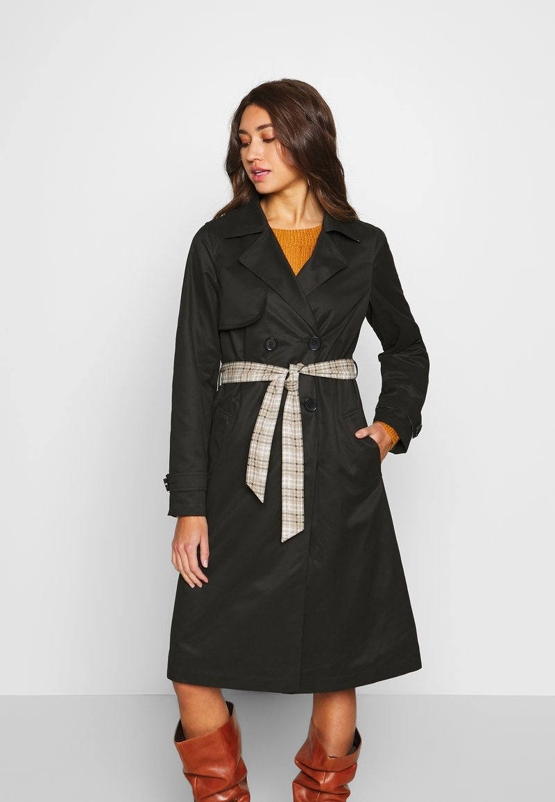 ONLY - ONLADDIE - Trench - black