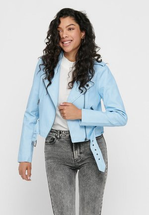 ONLPASTEL  - Jacka i konstläder - cashmere blue