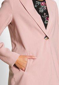 ONLY - ONLAYA COAT - Halflange jas - adobe rose - 4