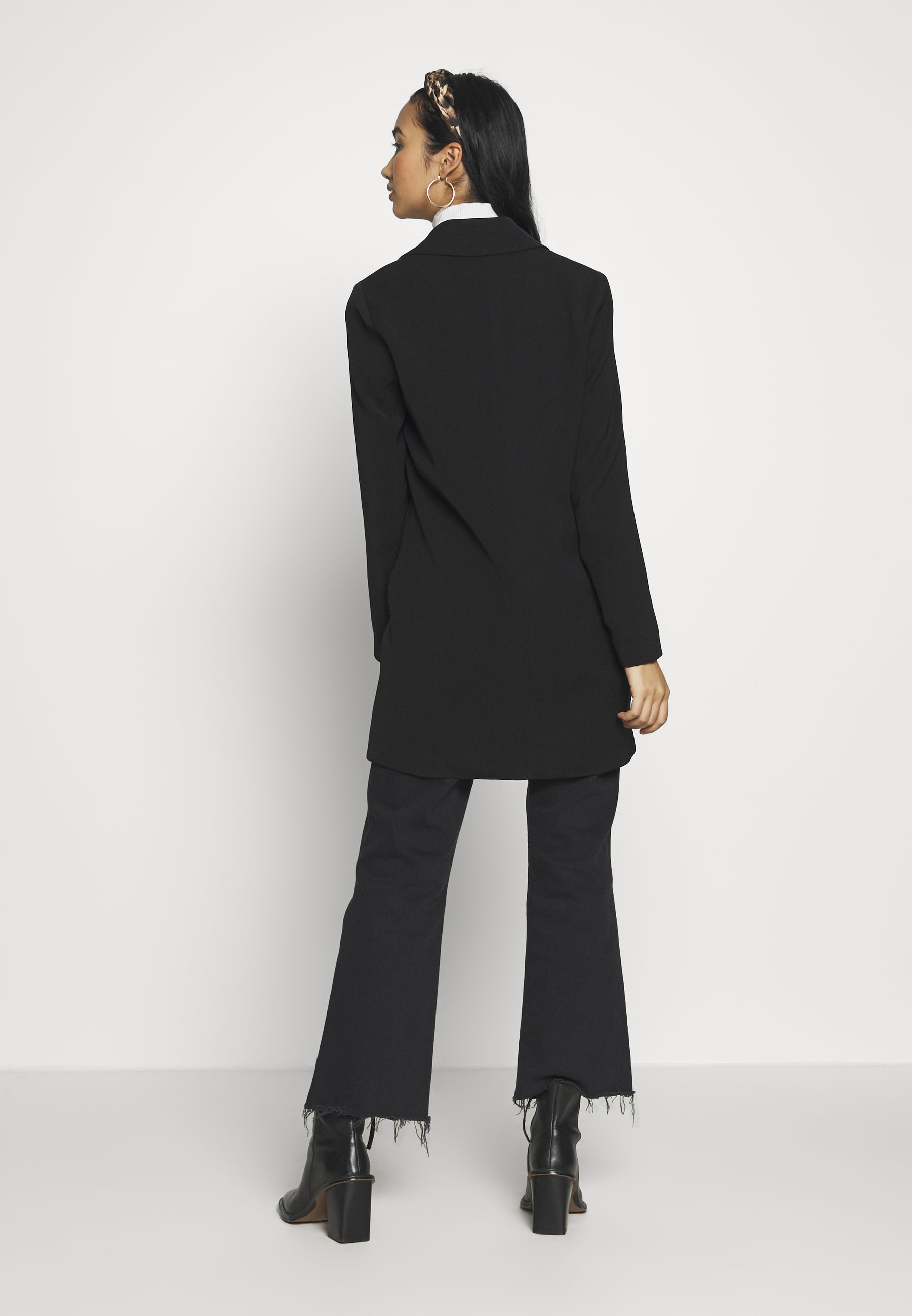 Only Onlaya Coat - Kort Kappa / Rock Black
