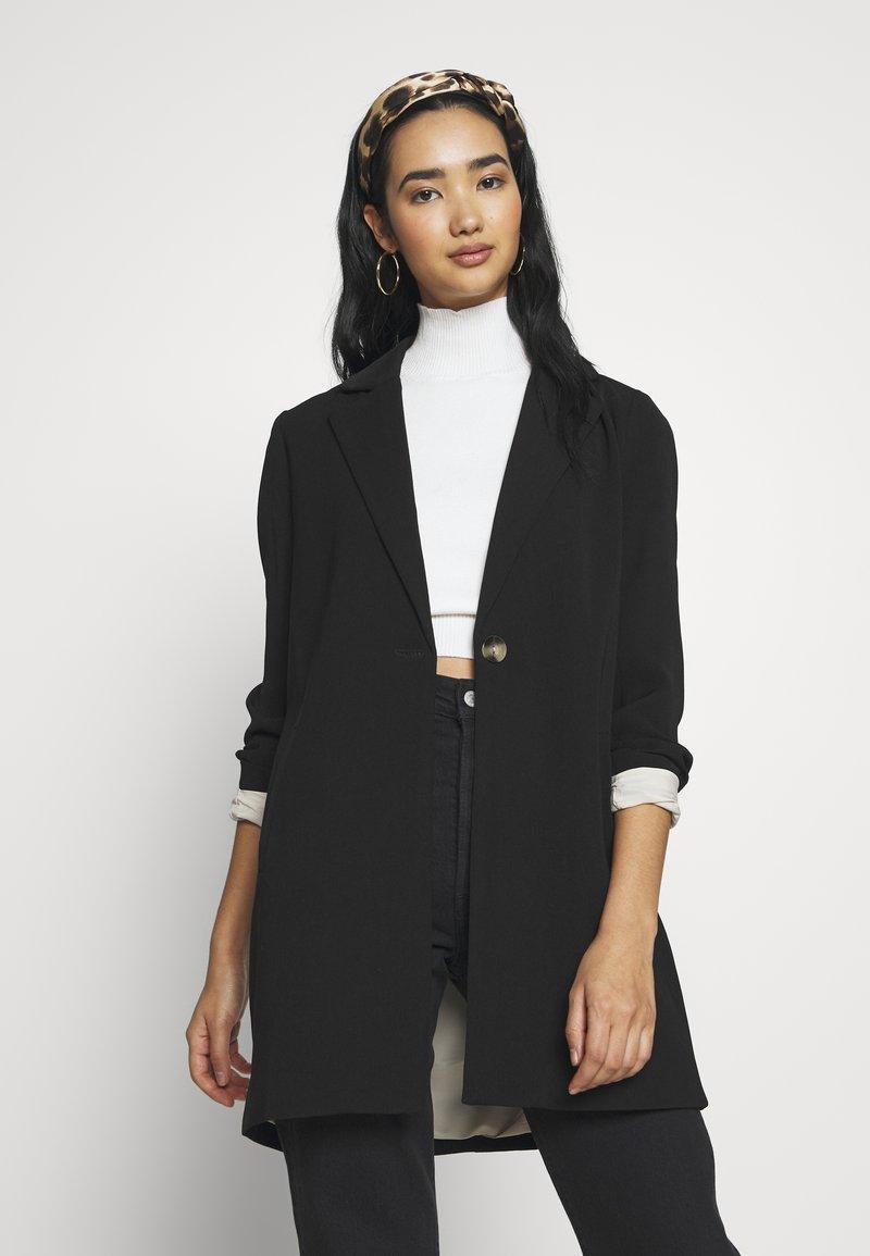 ONLY - ONLAYA COAT - Manteau court - black