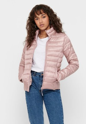 Winter jacket - pale mauve