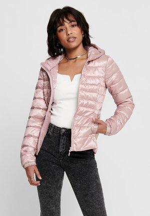Winter jacket - pale mauve
