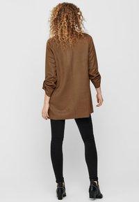 ONLY - Halflange jas - brown - 2