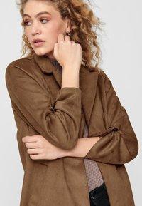 ONLY - Halflange jas - brown - 3