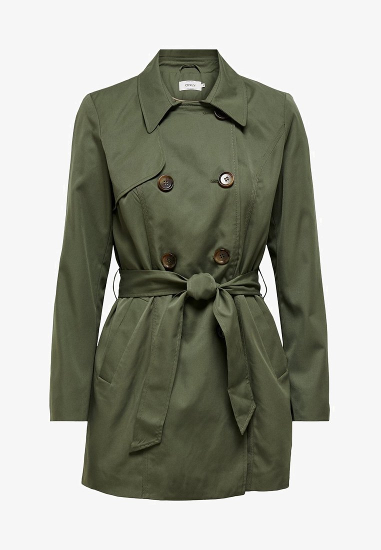 ONLY - Trench - dark green