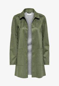 ONLY - Krótki płaszcz - grape leaf - 4
