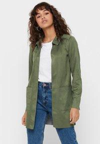 ONLY - Krótki płaszcz - grape leaf - 0