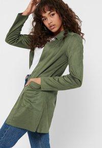 ONLY - Krótki płaszcz - grape leaf - 3