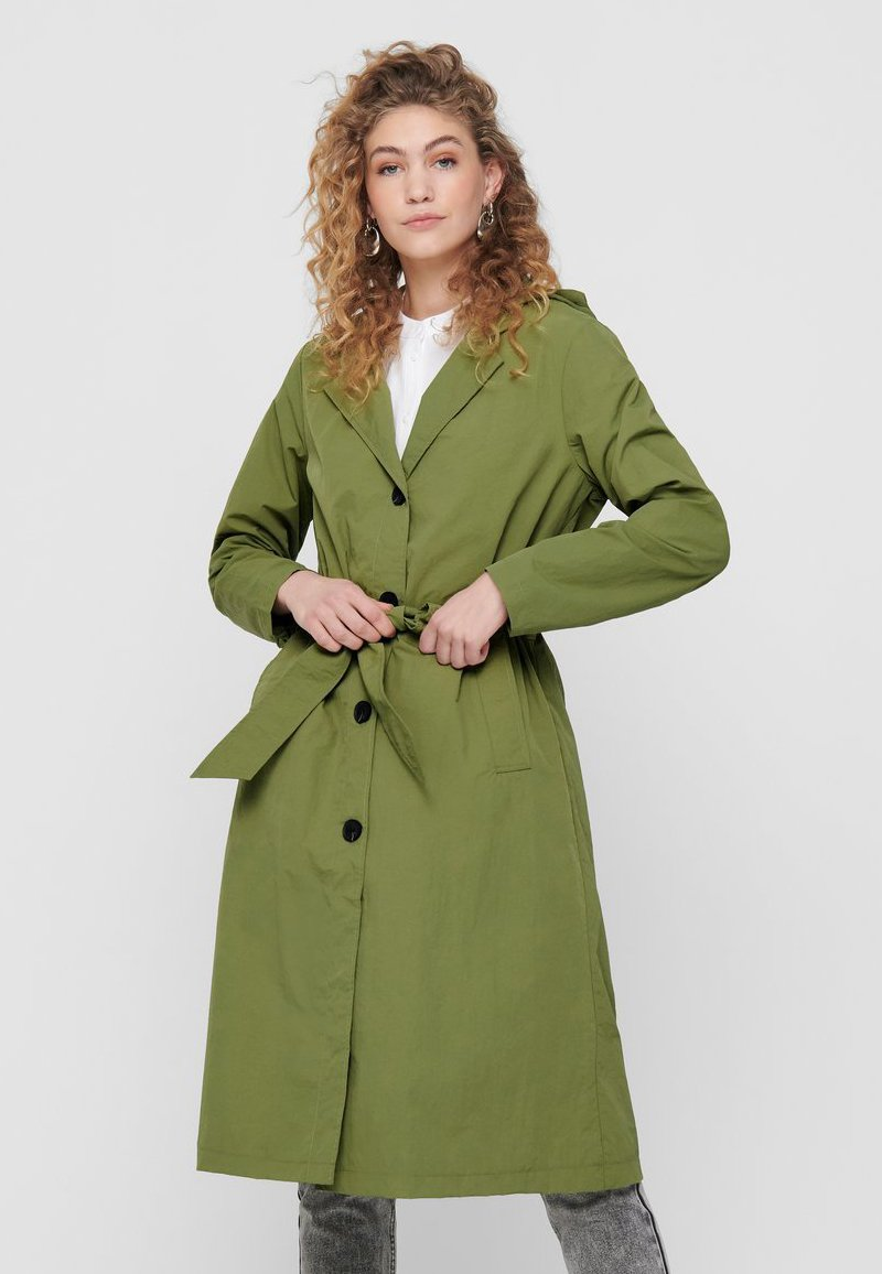 ONLY - Trench - martini olive